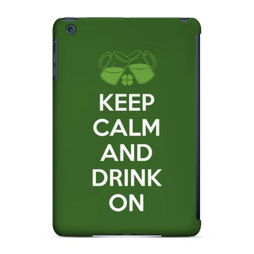 Drink On - Geeks Designer Line Holiday Series Hard Case for Apple iPad Mini
