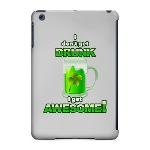 I Get Awesome - Geeks Designer Line Holiday Series Hard Case for Apple iPad Mini