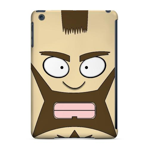 Zman - Geeks Designer Line Toon Series Hard Case for Apple iPad Mini