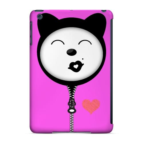 Kissycat - Geeks Designer Line Hoodie Kitty Series Hard Case for Apple iPad Mini
