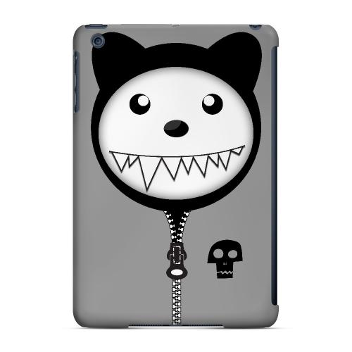 Grimmycat - Geeks Designer Line Hoodie Kitty Series Hard Case for Apple iPad Mini