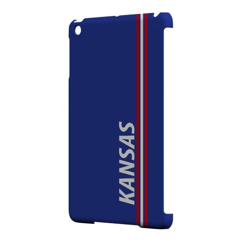 Kansas - Geeks Designer Line March Madness Series Hard Case for Apple iPad Mini