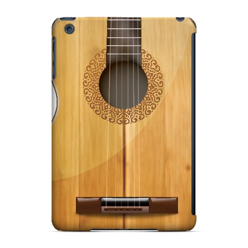 Acoustic Guitar - Geeks Designer Line Music Series Hard Case for Apple iPad Mini