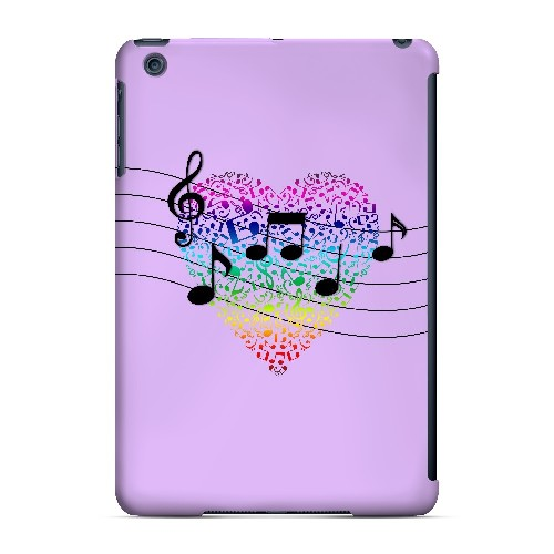 Earful of Color - Geeks Designer Line Music Series Hard Case for Apple iPad Mini