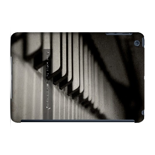 Music Speaks - Geeks Designer Line Music Series Hard Case for Apple iPad Mini