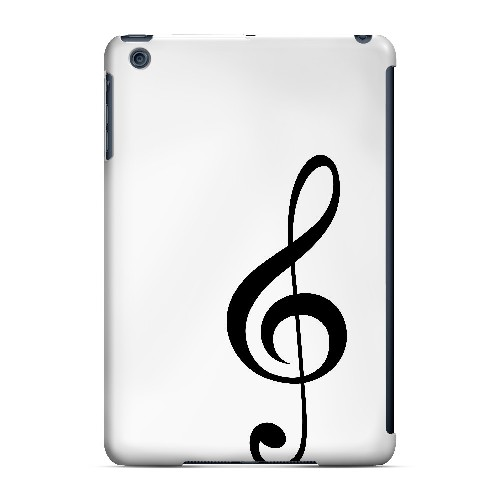 Simple Treble Clef - Geeks Designer Line Music Series Hard Case for Apple iPad Mini