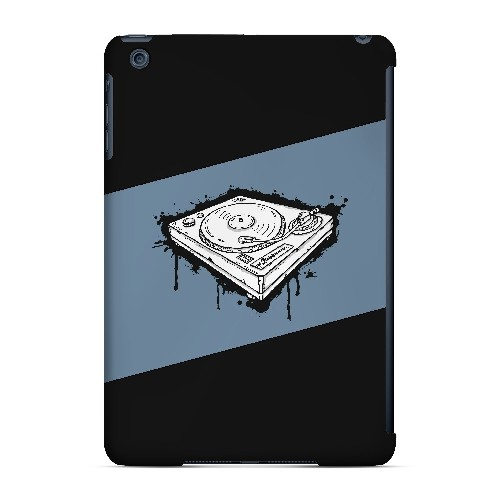 Wheel of Steel Blue - Geeks Designer Line Music Series Hard Case for Apple iPad Mini