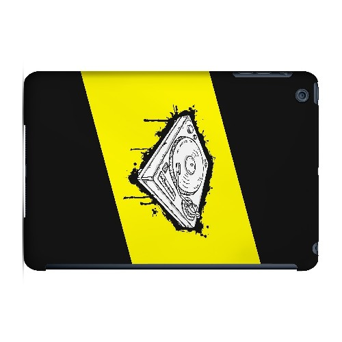 Wheel of Steel Yellow - Geeks Designer Line Music Series Hard Case for Apple iPad Mini