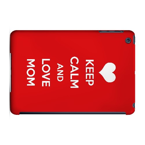 Love Mom - Geeks Designer Line Mom Series Hard Case for Apple iPad Mini