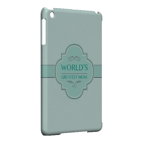 Vintage World's Greatest Mom - Geeks Designer Line Mom Series Hard Case for Apple iPad Mini