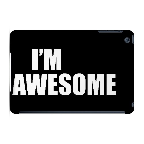Awesome - Geeks Designer Line Humor Series Hard Case for Apple iPad Mini
