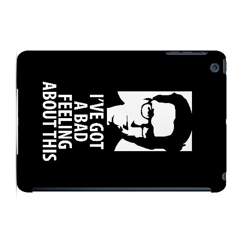 Bad Feeling - Geeks Designer Line Humor Series Hard Case for Apple iPad Mini