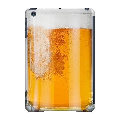 Beer Mug - Geeks Designer Line Humor Series Hard Case for Apple iPad Mini