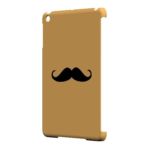 Mustache Orange - Geeks Designer Line Humor Series Hard Case for Apple iPad Mini