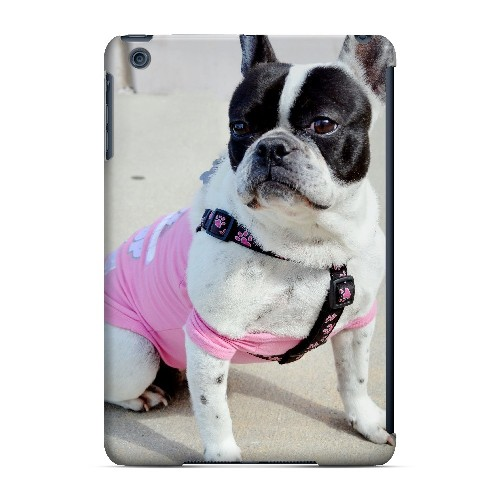 English Bulldog Mix - Geeks Designer Line Puppy Series Hard Case for Apple iPad Mini