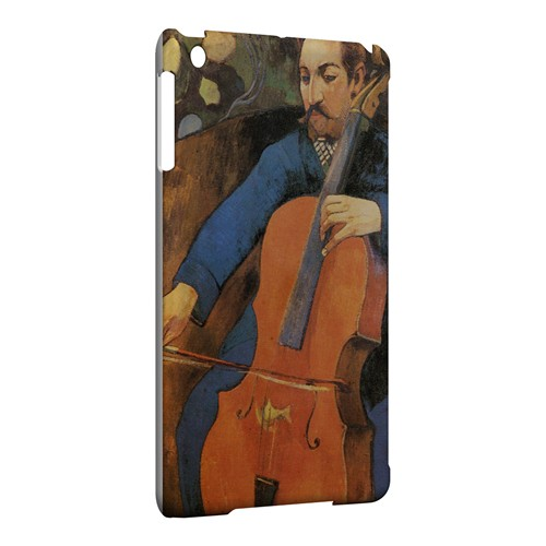 The Cellist by Paul Gauguin - Geeks Designer Line Artist Series Hard Case for Apple iPad Mini