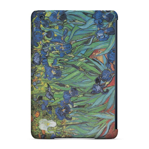 Irises by Vincent van Gogh - Geeks Designer Line Artist Series Hard Case for Apple iPad Mini
