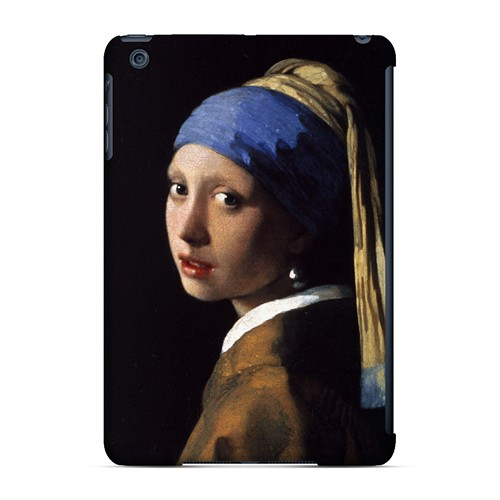 Girl with a Pearl Earring by Jan Vermeer - Geeks Designer Line Artist Series Hard Case for Apple iPad Mini