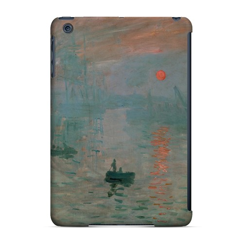 Impression Sunrise by Claude Monet - Geeks Designer Line Artist Series Hard Case for Apple iPad Mini