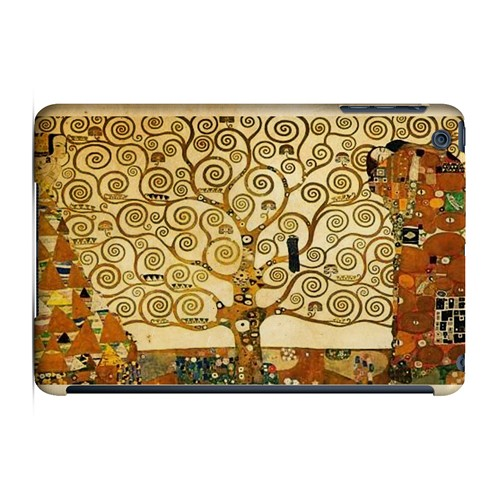 Tree of Life by Gustav Klimt - Geeks Designer Line Artist Series Hard Case for Apple iPad Mini