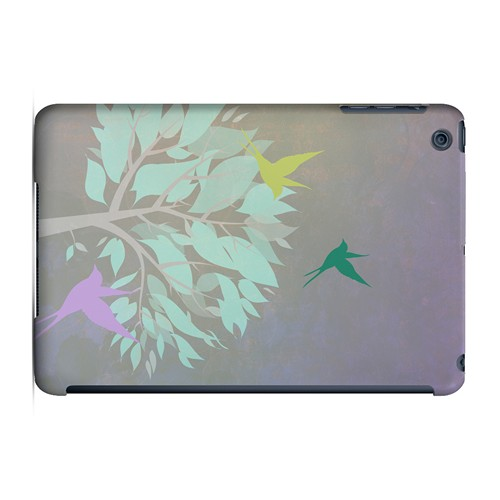 Swallow Flight - Geeks Designer Line Spring Series Hard Case for Apple iPad Mini