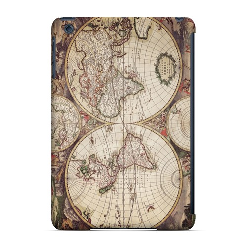 Terrarum Orbis - Geeks Designer Line Map Series Hard Case for Apple iPad Mini
