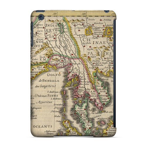 Indie Orientale - Geeks Designer Line Map Series Hard Case for Apple iPad Mini