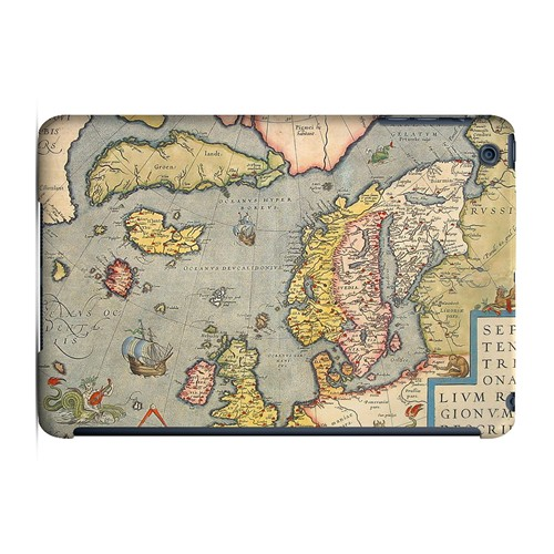 Ancient Map of Europe - Geeks Designer Line Map Series Hard Case for Apple iPad Mini