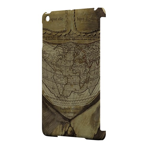 Ancient Map Head - Geeks Designer Line Map Series Hard Case for Apple iPad Mini