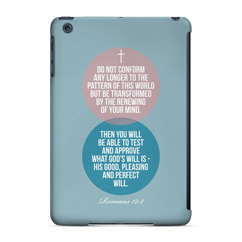 Romans 12:2 - Geeks Designer Line Bible Series Hard Case for Apple iPad Mini