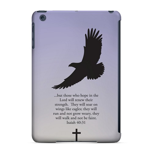 Isaiah 40:31 - Sleepy Grape - Geeks Designer Line Bible Series Hard Case for Apple iPad Mini