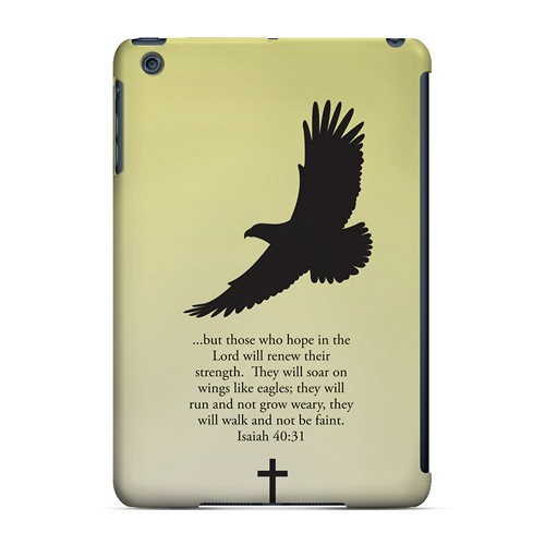 Isaiah 40:31 - Sunset Yellow - Geeks Designer Line Bible Series Hard Case for Apple iPad Mini