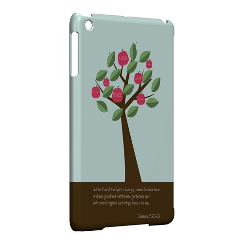 Galatians 5:22-23 - Geeks Designer Line Bible Series Hard Case for Apple iPad Mini