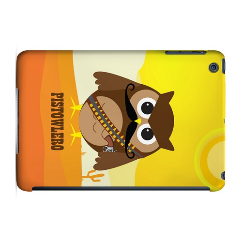 Pistowlero - Geeks Designer Line Owl Series Hard Case for Apple iPad Mini