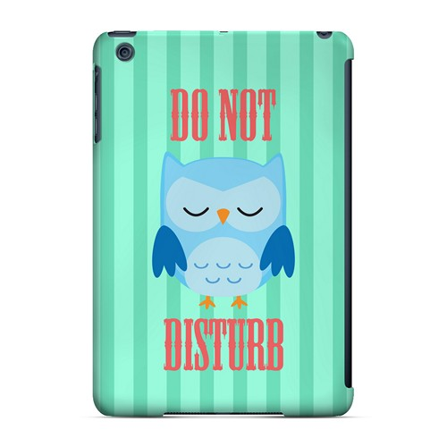 Do Not Disturb - Geeks Designer Line Owl Series Hard Case for Apple iPad Mini