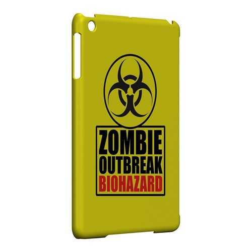 Zombie Outbreak Biohazard - Geeks Designer Line Apocalyptic Series Hard Case for Apple iPad Mini