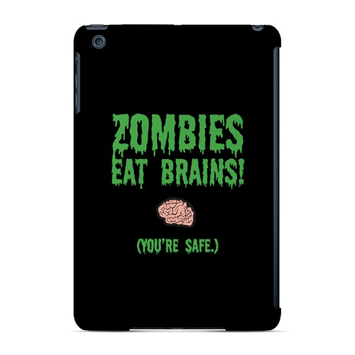 Zombies Eat Brains - Geeks Designer Line Apocalyptic Series Hard Case for Apple iPad Mini