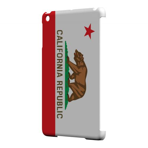 California - Geeks Designer Line Flag Series Hard Back Case for Apple iPad Mini
