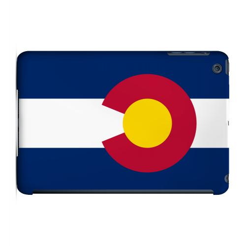 Colorado - Geeks Designer Line Flag Series Hard Back Case for Apple iPad Mini