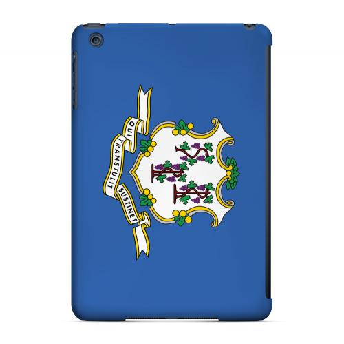 Connecticut - Geeks Designer Line Flag Series Hard Back Case for Apple iPad Mini