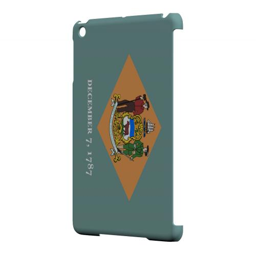 Delaware - Geeks Designer Line Flag Series Hard Back Case for Apple iPad Mini