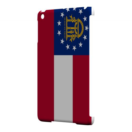 Georgia - Geeks Designer Line Flag Series Hard Back Case for Apple iPad Mini