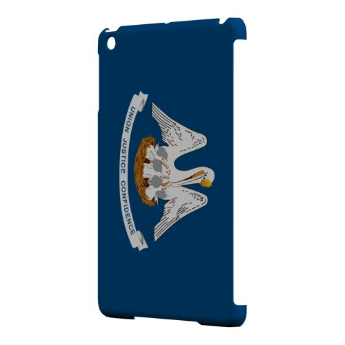 Louisiana - Geeks Designer Line Flag Series Hard Back Case for Apple iPad Mini