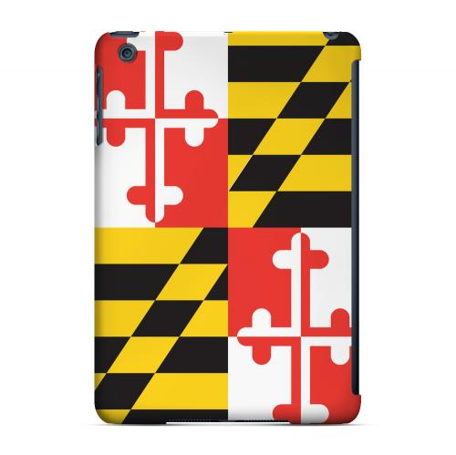 Maryland - Geeks Designer Line Flag Series Hard Back Case for Apple iPad Mini
