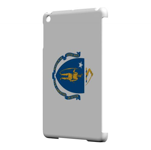 Massachusetts - Geeks Designer Line Flag Series Hard Back Case for Apple iPad Mini
