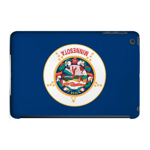 Minnesota - Geeks Designer Line Flag Series Hard Back Case for Apple iPad Mini