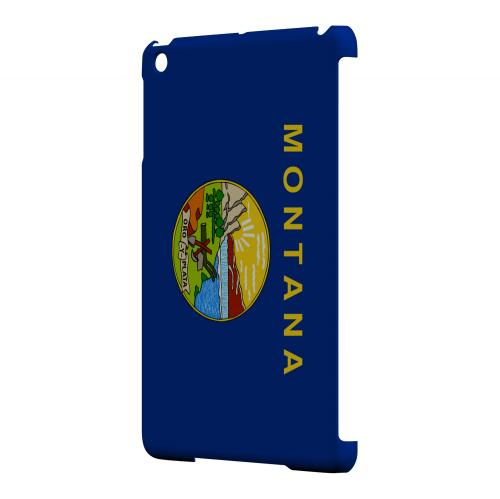 Montana - Geeks Designer Line Flag Series Hard Back Case for Apple iPad Mini
