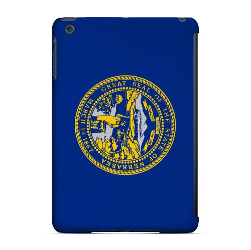 Nebraska - Geeks Designer Line Flag Series Hard Back Case for Apple iPad Mini