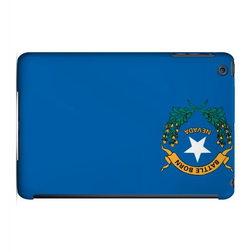 Nevada - Geeks Designer Line Flag Series Hard Back Case for Apple iPad Mini