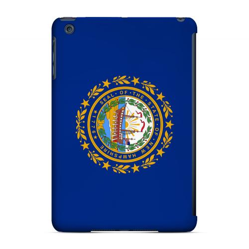 New Hampshire - Geeks Designer Line Flag Series Hard Back Case for Apple iPad Mini